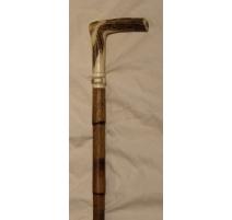 Canne-épée à poignée en corne de cerf