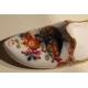 Chaussure de Meissen, décor chinois