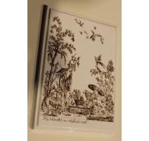 """Catelle décorative de Meissen """"Aux chinois"""