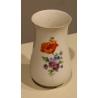 Petit vase de Meissen, décor fleurs