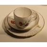 Tasse, sous-tasse et assiette de KPM