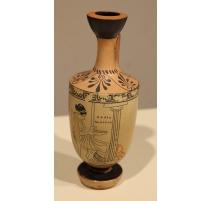 """Vase grec en terre cuite """"Femme"""""""