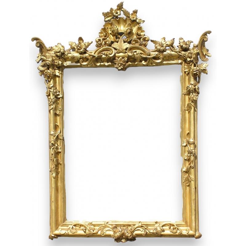 miroir baroque sur moinat sa antiquit s d coration. Black Bedroom Furniture Sets. Home Design Ideas