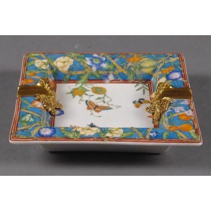 Cendrier en porcelaine Papillons
