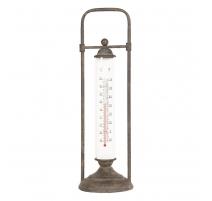 Thermomètre en fonte, à poser