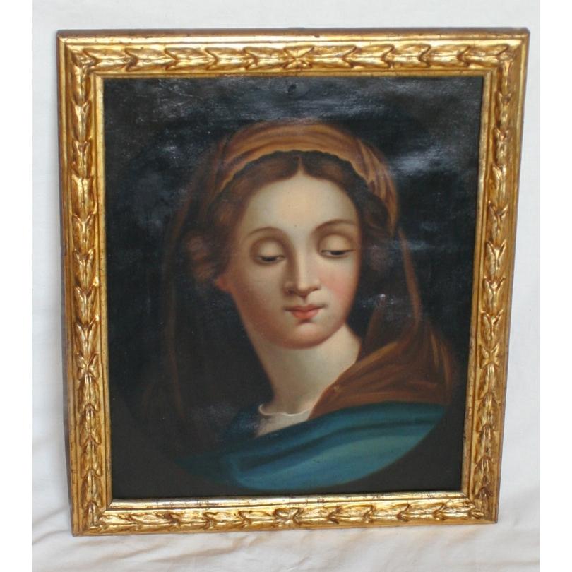 peintures tableau portrait de femme moinat sa antiquit s d coration. Black Bedroom Furniture Sets. Home Design Ideas