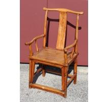 Suite de deux fauteuils et six chaises chinoises
