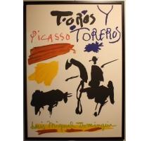 "Affiche ""Toros Y Toreros"" par PICASSO"