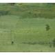 """Tableau """"Au jardin"""" signé H. WEBER"""