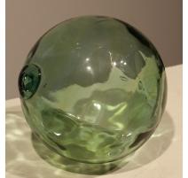 Boule en verre verte