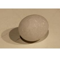 Oeuf en pierre blanche