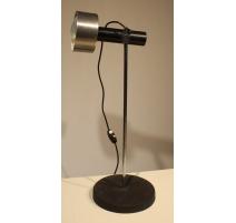 Lampe vintage abat-jour métal brossé