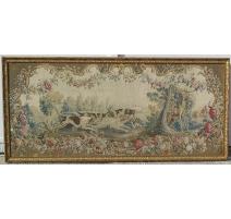 """Tapisserie Louis XV """"La chasse"""