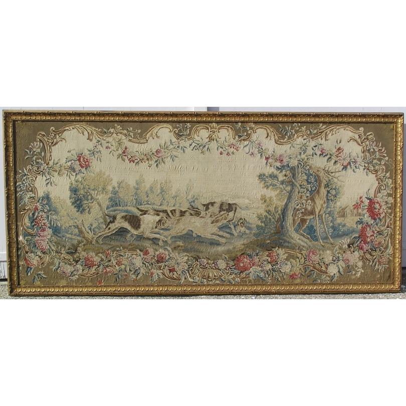 Tapisserie Louis XV  La chasse