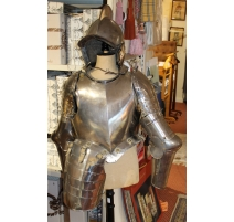 Demi-armure composite