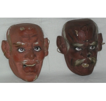 Pair of masks.