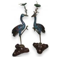 Pair of cranes.