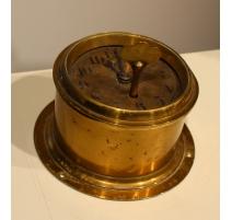 Clock boat brass round