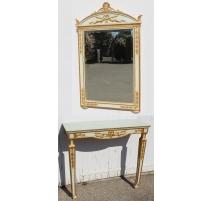 Консоль и зеркало в стиле Directoire