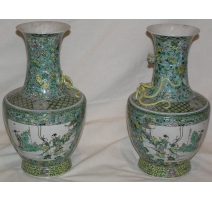 Pair of vases.