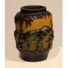 Vase style GALLÉ Eléphants