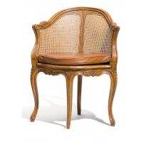 Fauteuil de bureau Mansart style Louis XV