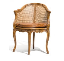 Office chair Mansart style of Louis XV