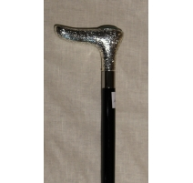 Трость с ручкой серебряный коробка Малахит