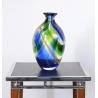 Vase Roma vert et bleu