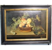 """Painting """"Nature morte aux fruits"""""""