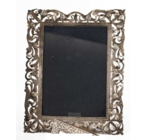 Silver frame 900 openwork decor of the tracery