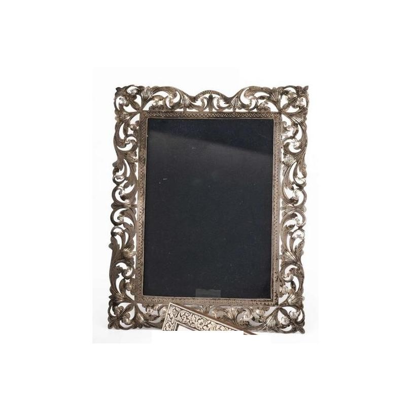 银框架900镂空的装饰的记忆
