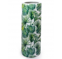 Двери-зонтик Листья тропических, Большой