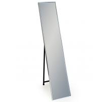 Miroir Arden à poser cadre argenté
