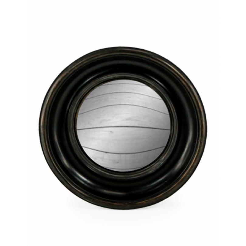 Weg, der konvexe spiegel, rahmen rund, tief schwarz
