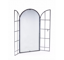 Mirror window archée iron grey