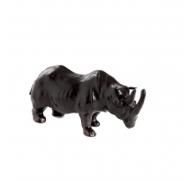雕塑犀牛皮