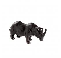Sculpture Rhinoceros leather
