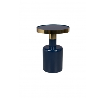 Table d'appoint Glam bleue