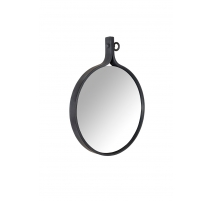 Espejo Atractivo de aluminio con recubrimiento de polvo negro