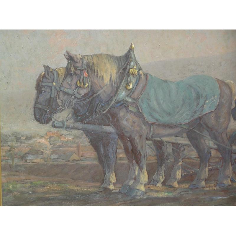 Moinat sa antiquit s et d coration rolle et gen ve - Tableau de cheval ...