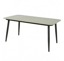 Садовый стол Марсала из алюминия и стекла