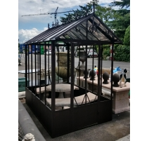 Greenhouse Flora wrought iron brown