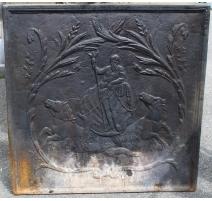 "Plate fireplace ""Neptune"""