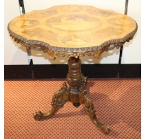 "Table of Brienz tray with inlaid ""Deer"""