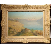 "Table ""Lavaux"" signed V. GILLIAND"
