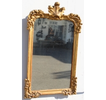 Зеркало Людовика XV фронтон Ладони и раковин