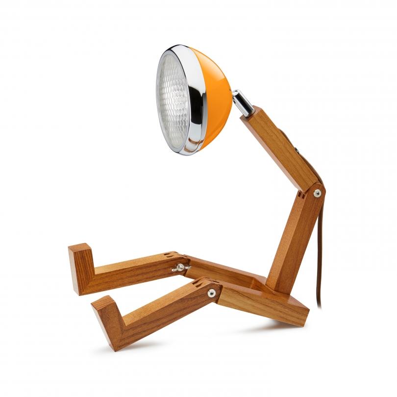 Lampe Mr. Wattson MCLaren Orange