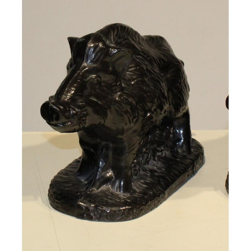 Wild boar in black cast by the BULGE