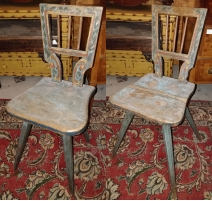 Pair of stools.